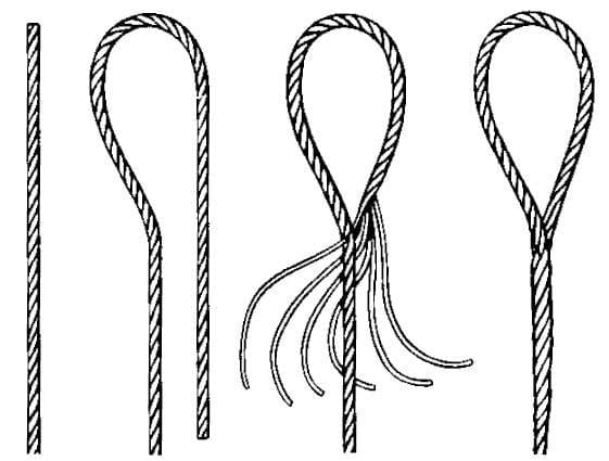 Hand SPliced Wire Rope Sling
