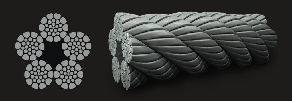 5xK26WS – SFC Compact Wire Rope