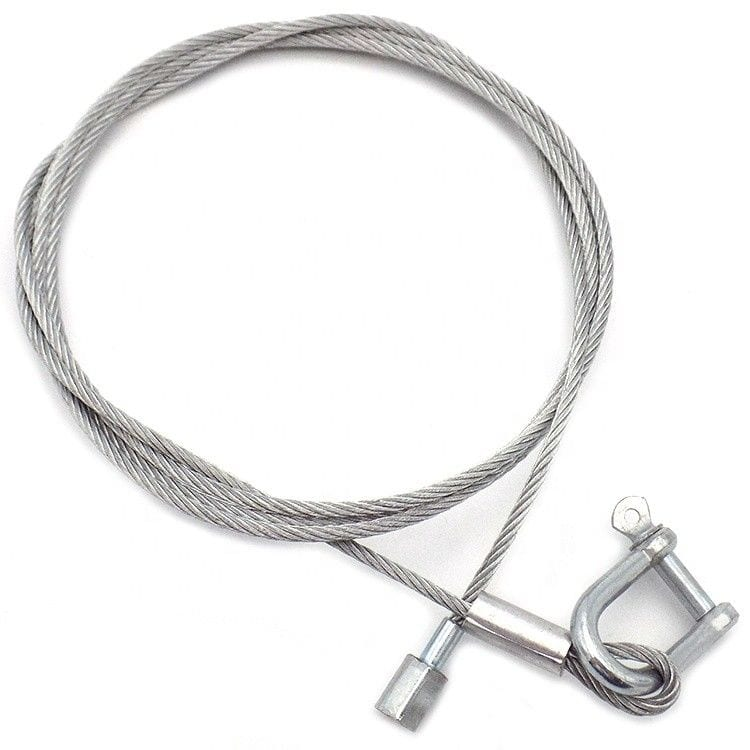 Galvanized Steel Wire Lifting Slings With Safety Steel