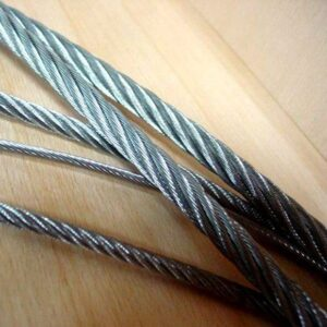 JIS 7x37 T/S Plastic Coated Wire Rope Fitness Equipment SGS ISO
